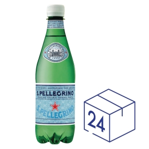San Pellegrino 聖沛黎洛 膠瓶裝有氣礦物水500毫升 - 24支裝