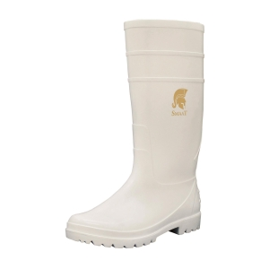 SMAAT SPW050 PVC 防滑水鞋 白色 43碼 (無鋼頭)