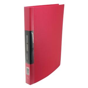 Data Base A4 雙孔文件夾 25毫米 紅色