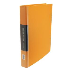 Data Base A4 雙孔文件夾 38毫米 黃色