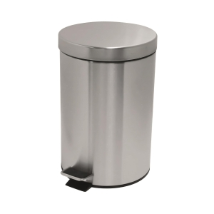 Stainless Steel Step on Waste Bin 7L