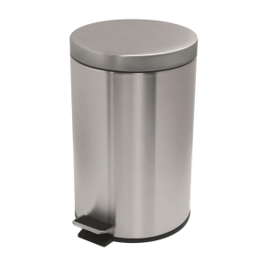 Stainless Steel Step on Waste Bin 12L