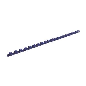 塑膠釘裝圈 藍色 直徑: 10毫米 - 每包100條