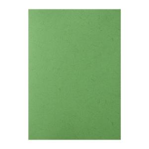 皮紋釘裝封面咭 A4 綠色 - 每包100張