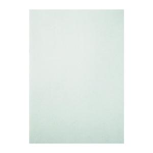 皮紋釘裝封面咭 A4 白色 - 每包100張