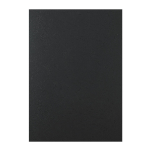 Leathergrain Binding Cover A4 Black - Pack of 100