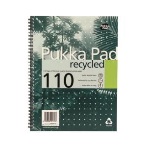 Pukka Pad 環保紙線圈筆記簿 A4