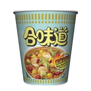 日清合味道杯麵 辣海鮮味75克