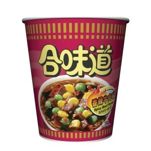 NISSIN 日清 合味道杯麵 香辣牛肉味75克