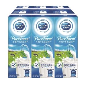 Dutch Lady 子母 天然純牧奶類飲品225亳升 - 6包裝