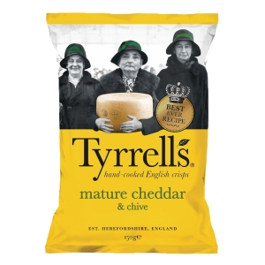 Tyrrell s 手工製車打芝士及香蔥味薯片 150克