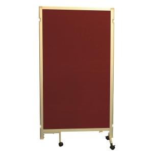 組合式告示板屏風 紅色