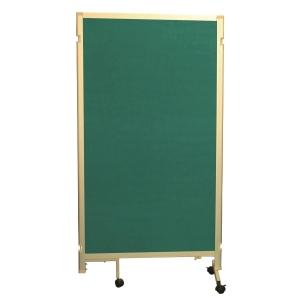 組合式告示板屏風 綠色