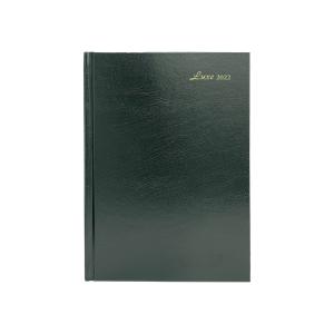 Luxe 57C 日記簿 兩頁一週 A5 綠色
