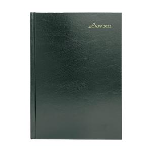 Luxe 41C 日記簿 一頁一日 A4 綠色