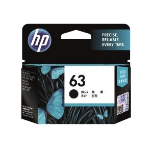 HP F6U62AA 63 墨水盒 黑色