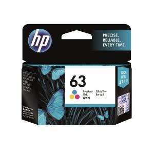 HP F6U61AA 63 墨水盒 彩色