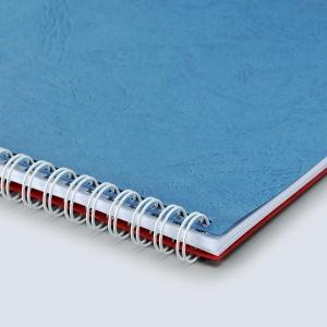 M&A 釘裝雙鐵圈 白色 直徑: 6.4毫米 - 每盒100條