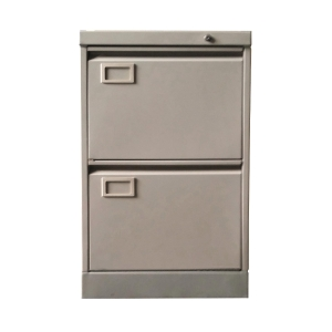 兩斗鋼文件櫃(灰色) 高71.8 x 闊45.8 x 深63.5厘米