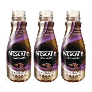 Nescafe Smoovlatte Mocha 268ml - Pack of 3