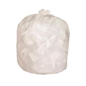 可生物降解垃圾袋 24X24吋 白色 - 100個裝