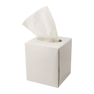 唯潔雅 白色 立方盒裝紙巾 - 80張裝