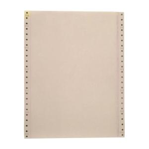 彩色電腦紙 9-1/2吋 x 11吋 雙層 (白/黃) - 每盒900張