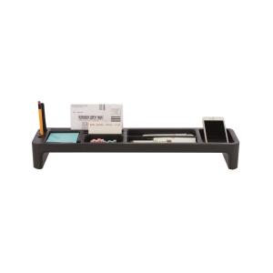 SYSMAX 仕嘜牌 桌上文具分類盤 黑色