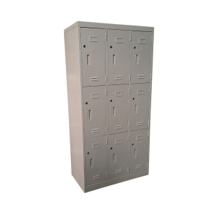 Steel 9 Locker ML-09 Grey