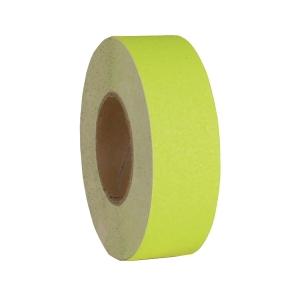 SECUREMEN 2吋 防滑貼 (一般平地) 螢光黃色
