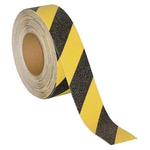 SECUREMEN 2吋 危險警示防滑貼 (一般平地) 黑/黃色
