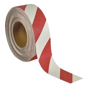 SECUREMEN 2吋 危險警示防滑貼 (一般平地) 紅/白色