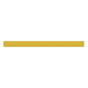 SECUREMEN 2吋 片裝防滑貼 (一般平地) 黃色 - 每包10張