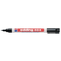 MARKER PERMANENT EDDING 404 RUND 0,7 MM SPIDS SORT