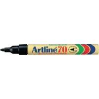 MARKER PERMANENT ARTLINE 70 RUND 1,5 MM SPIDS SORT