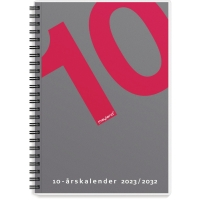 KALENDER MAYLAND 1470 00 10-ÅRS KALENDER A5 M/ILLUSTRATION