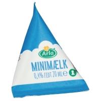 MÆLK MINIMÆLK ARLA JIGGER 0,5% 20 ML KARTON A 100 STK