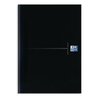NOTESBOG A4 OXFORD SMART BLACK LINJERET 90 ARK 90 G SORT