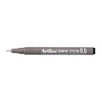 DRAWING PEN ARTLINE EK235 0.5MM SORT