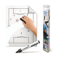 WHITEBOARD MAGIC-CHART ULINJERET 25 ARK LEGAMASTER