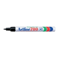 MARKER PERMANENT ARTLINE 700 0,7 MM SORT