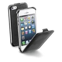 COVER CELLULARLINE SKIND MED FLAP TIL IPHONE 5/5S