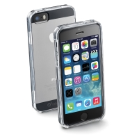 PLASTCOVER CELLULARLINE  TIL IPHONE 5/5S