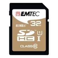 HUKOMMELSESKORT EMTEC SDHC GOLD 32GB