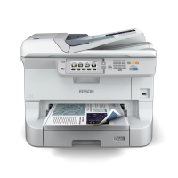 PRINTER EPSON WF-8510DWF INKJET FARVE MULTIFUNKTION