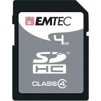SD-HUKOMMELSESKORT EMTEC SILVER 4 GB