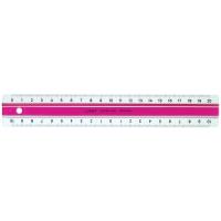 LINEAL LINEX 400040250 20CM ACRYL PINK
