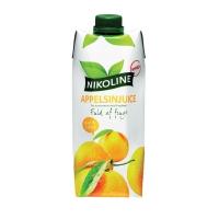 JUICE NIKOLINE APPELSIN 50CL PAKKE A 15 STK