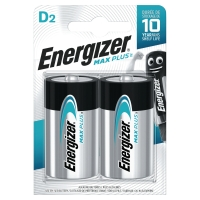 BATTERIER ENERGIZER ALKALINE ADVANCED D PAKKE A 2 STK
