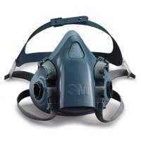 Halvmaske 3M 7501 str s - åndedrætsmaske